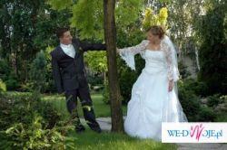 Sprzedam Piękną suknie ślubną z trenem