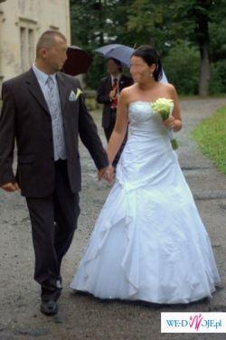 sprzedam piękną suknię ślubnę SINCERITY Bridal model 3315 z dodatkami