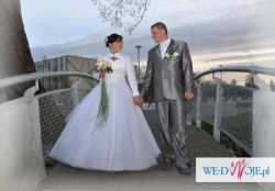 Sprzedam Piekną Suknię Ślubnż z Salonu Ewy Śliwy MAGNIFIQUE