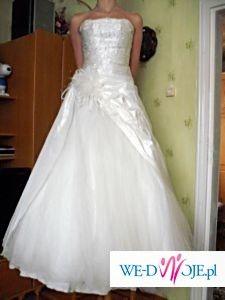 Sprzedam piękną suknię ślybną!!OKAZJA!!!