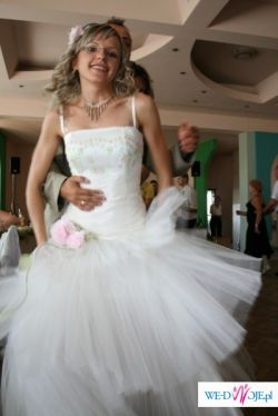 sprzedam piękną suknie z drugiego dnia wesela