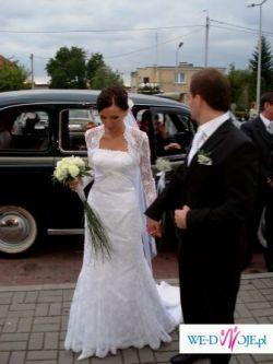 Sprzedam piekna suknie z koronki!!!!!!!!!!!!