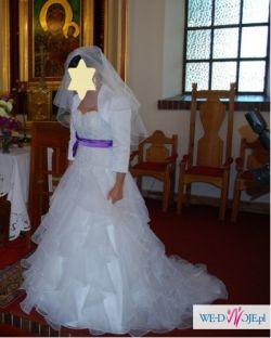Sprzedam piękną suknię z Salonu Lisa Ferrera ze Szczecina!