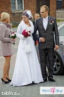 Sprzedam Piękny ślubny Płaszcz