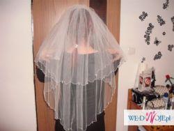 Sprzedam piękny welon ślubny