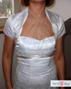 Sprzedam pilnie piękna suknię ślubną.