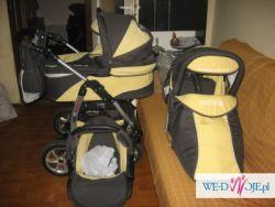 sprzedam pilnie wózek 3 funkcyjny baby mercQ7