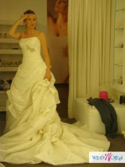 Sprzedam ponadczasową piękną suknię ślubną