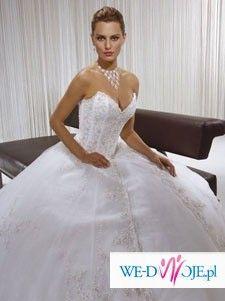 Sprzedam przepiękną białą suknię firmy Demetrios 2007