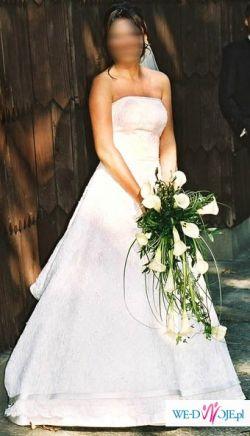 Sprzedam przepiękną koronkową Suknię Sincerity 3070