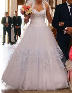 Sprzedam ! Przepiękna suknia ślubna