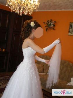 sprzedam przepiekna suknie