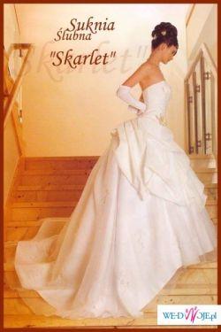 sprzedam przepiękną suknię SKARLET