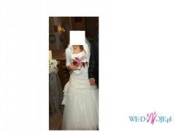 sprzedam przepiękną suknię ślubą