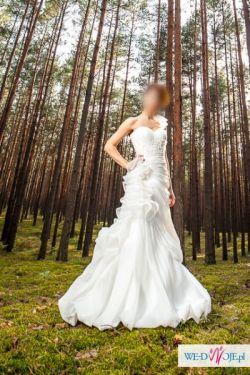 Sprzedam przepiękną suknię ślubną!