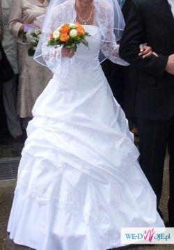 Sprzedam Przepiekną Suknie Ślubną 36/38 Cudo