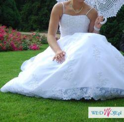 Sprzedam przepiekną suknię ślubną