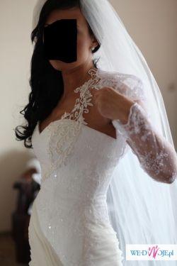 Sprzedam przepiękną suknię ślubną AGORA