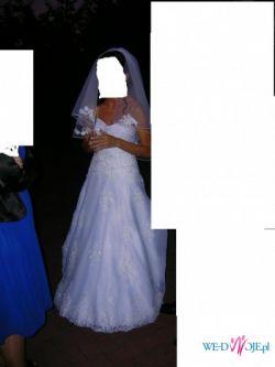 Sprzedam! przepiekną suknię ślubną ANNAIS BRIDAL MODEL KATE kolekcja 2009-10
