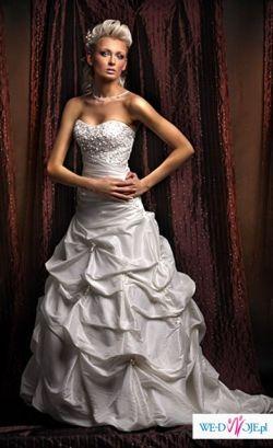 Sprzedam przepiękną suknię ślubną Annais Bridal - model z 2008 Asina