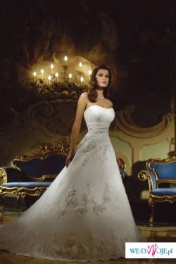 Sprzedam Przepiękną suknię ślubną DEMETROIS 2008 MODEL 9679