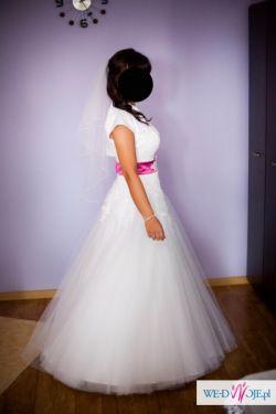 Sprzedam przepiękną suknię ślubną dla prawdziwej Księżniczki
