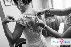 Sprzedam przepiękną suknie ślubną firmy Margarett, model Donatella Dollce