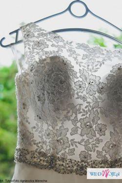 Sprzedam przepiękną suknię ślubną firmy Mori Lee (model 5204)