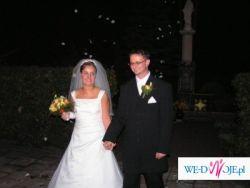 sprzedam przepiękną  suknię ślubną +gratis suknię wieczorową na 2 dzien wesela:)