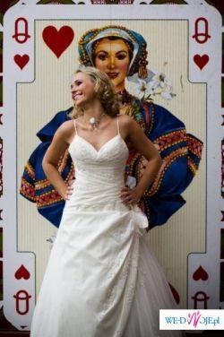 Sprzedam przepiękną suknię ślubną La Sposa model Sidney