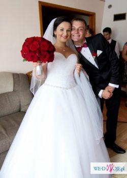 Sprzedam przepiękną suknię ślubną!!! rozm M