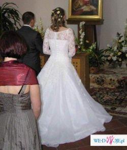 Sprzedam przepiękną suknię ślubną rozmiar 38