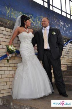 sprzedam przepiękną suknię ślubną Sweetheart 5832, rozmiar 38