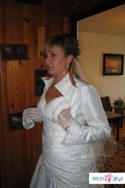 Sprzedam przepiękną suknie ślubną szytą na wzór sukni Demetrios