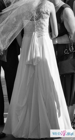 Sprzedam przepiękna suknie ślubną w rozm. 36 salon Nabla