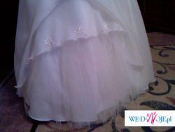 Sprzedam przepiękna suknię ślubną w rozm. 42-44