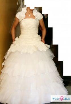 Sprzedam przepiękną suknie ślubną (w stylu hiszpańskim)