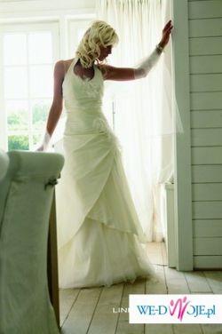 Sprzedam prześliczną, nietuzinkową Prześliczna Suknia Ślubna belgijskiej firmy L