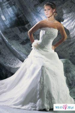 Sprzedam prześliczną suknię Cosmobella 7151