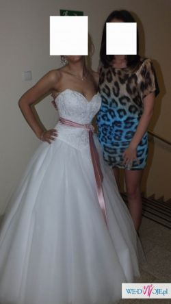 Sprzedam prześliczną suknie ślubna Angel Giovani