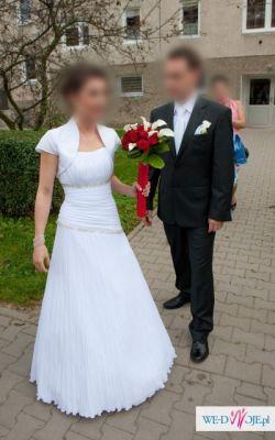 Sprzedam prześliczną suknię ślubną MS-Moda Justine