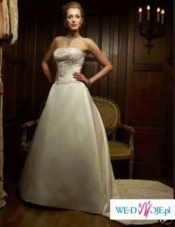 Sprzedam prześliczną suknię ślubną oryginalną CASABLANCA