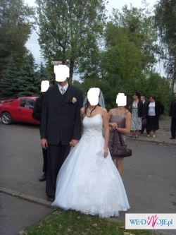sprzedam prześliczną suknie  ślubną TANIO