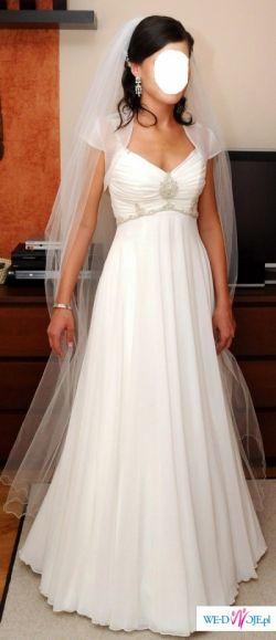Sprzedam prześliczna suknie slubna w stylu greckim