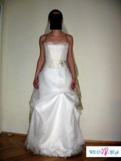 Sprzedam prześliczną śuknie ślubną  z Cymbeline Paris