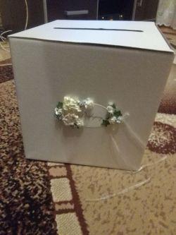 Sprzedam pudełko na koperty ślubne
