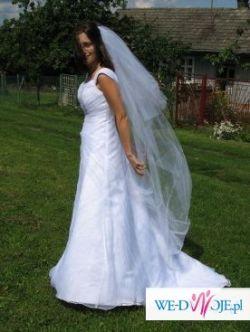 sprzedam romantyczną suknię ślubną  rozm.36