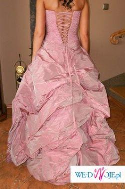 Sprzedam różową sukienkę Elizabeth Konin r 36