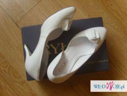 Sprzedam skórzane buty ślubne RYŁKO