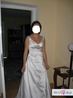 Sprzedam skromna suknię ślubną